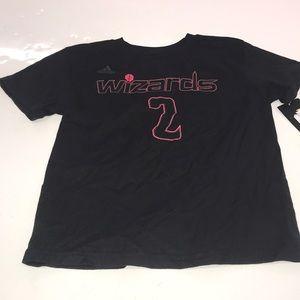 NBA Adidas wizards T-shirt size 7 WALL